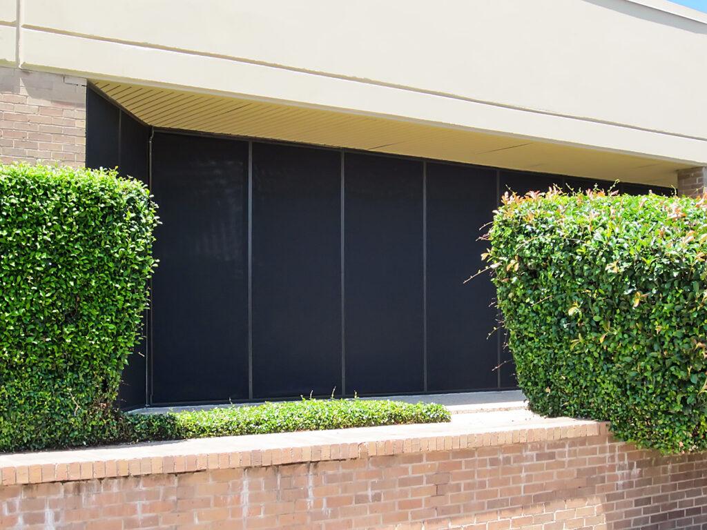 Austin Texas commercial solar window screen services